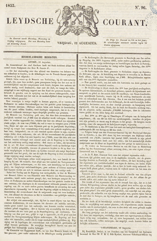 Leydse Courant 1853-08-12