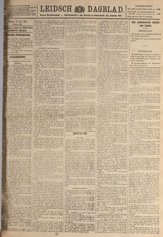 Leidsch Dagblad 1921-07-22