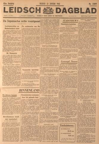 Leidsch Dagblad 1942-01-23