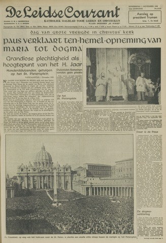 Leidse Courant 1950-11-02