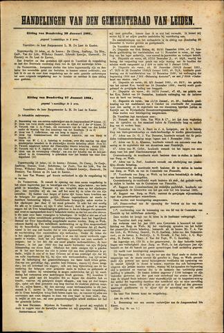 Handelingen van de Raad 1881-01-20