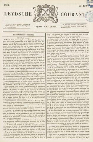 Leydse Courant 1853-11-04