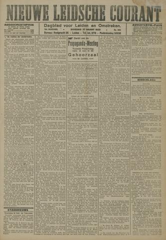 Nieuwe Leidsche Courant 1923-03-27
