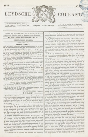 Leydse Courant 1855-12-21