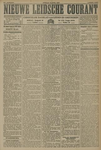 Nieuwe Leidsche Courant 1927-04-19
