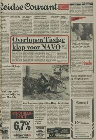 Leidse Courant 1985-08-24