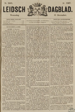 Leidsch Dagblad 1867-12-11