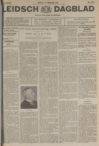 Leidsch Dagblad 1933-02-24
