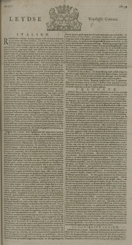 Leydse Courant 1725-03-30