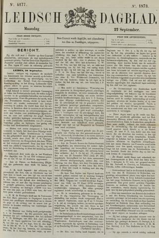 Leidsch Dagblad 1873-09-22