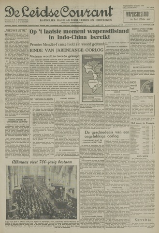 Leidse Courant 1954-07-21