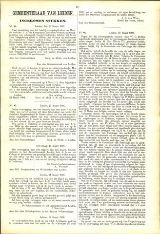 Handelingen van de Raad 1901-03-26