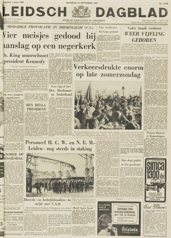 Leidsch Dagblad 1963-09-16