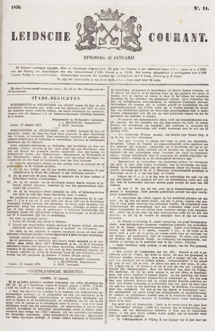 Leydse Courant 1876-01-18