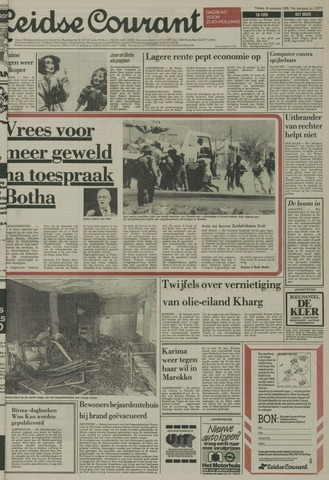 Leidse Courant 1985-08-16
