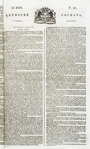 Leydse Courant 1843-04-28