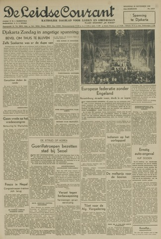 Leidse Courant 1950-11-20