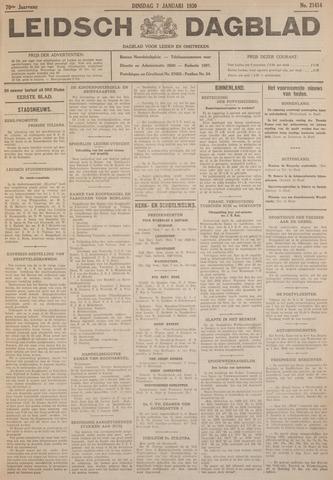 Leidsch Dagblad 1930-01-07