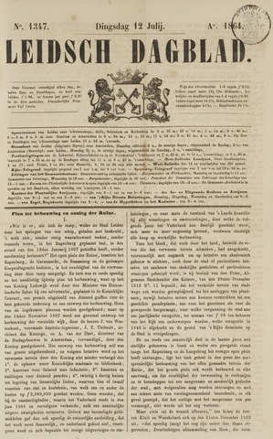 Leidsch Dagblad 1864-07-12