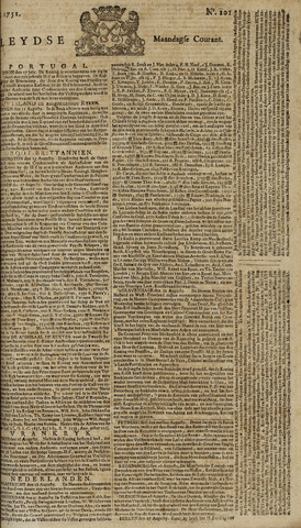 Leydse Courant 1751-08-23