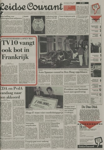 Leidse Courant 1989-10-25