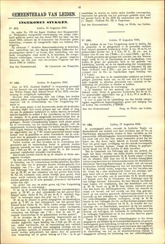 Handelingen van de Raad 1916-08-16