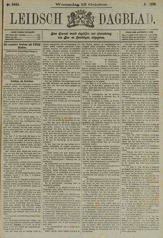 Leidsch Dagblad 1890-10-15