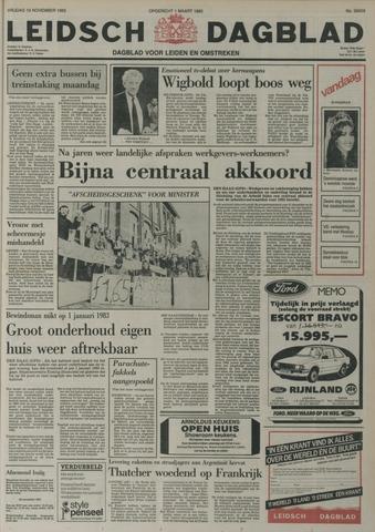 Leidsch Dagblad 1982-11-19