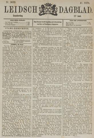 Leidsch Dagblad 1878-06-27