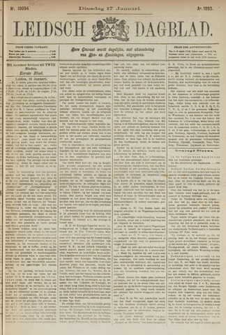 Leidsch Dagblad 1893-01-17