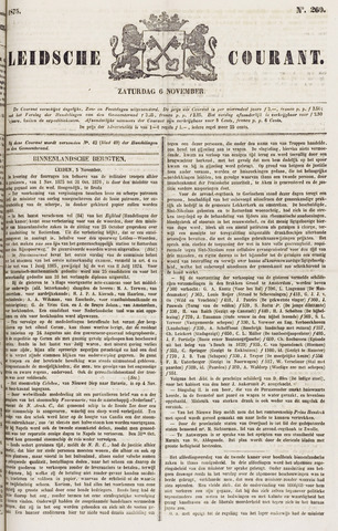 Leydse Courant 1875-11-06
