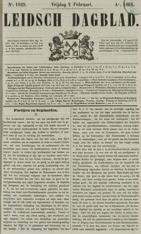Leidsch Dagblad 1866-02-02
