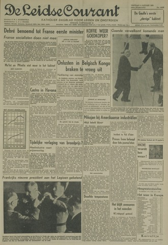 Leidse Courant 1959-01-09