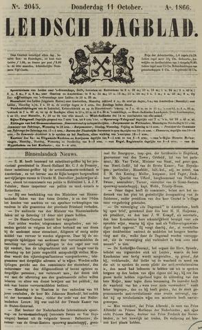 Leidsch Dagblad 1866-10-11