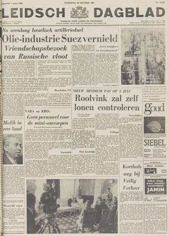 Leidsch Dagblad 1967-10-25