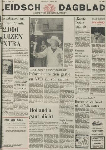 Leidsch Dagblad 1973-04-14