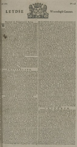 Leydse Courant 1722-10-21