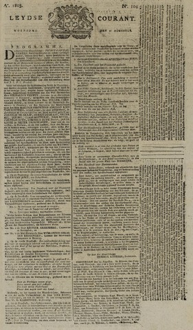 Leydse Courant 1803-08-31