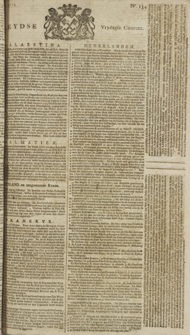 Leydse Courant 1772-11-06