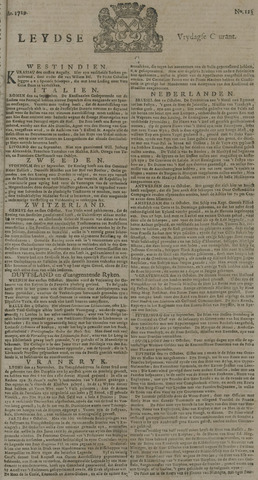 Leydse Courant 1729-10-14