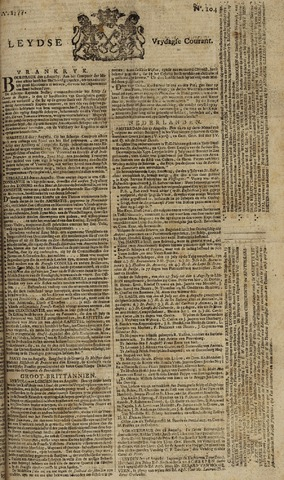 Leydse Courant 1777-08-29