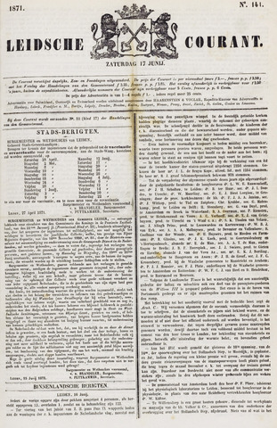 Leydse Courant 1871-06-17