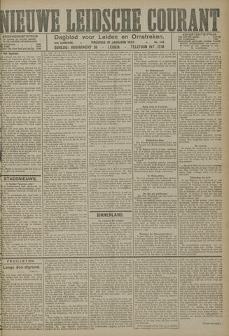 Nieuwe Leidsche Courant 1921-01-21