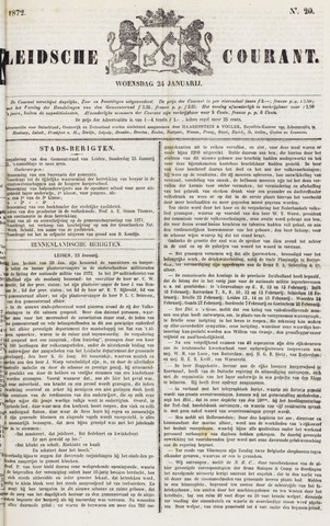 Leydse Courant 1872-01-24