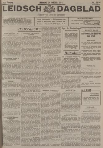 Leidsch Dagblad 1938-10-24