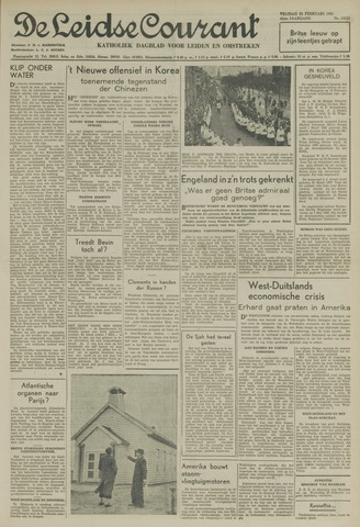 Leidse Courant 1951-02-23