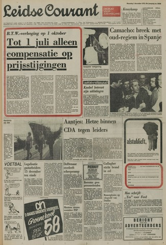 Leidse Courant 1975-12-01