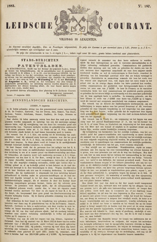 Leydse Courant 1883-08-10
