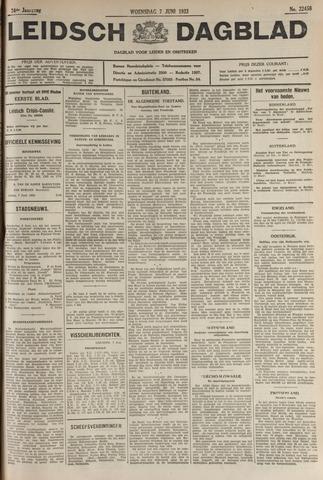 Leidsch Dagblad 1933-06-07