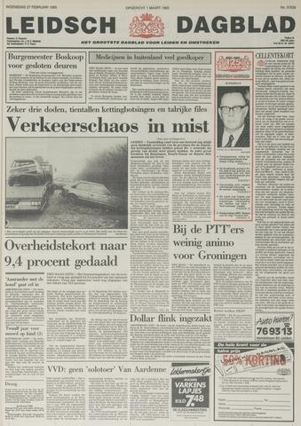 Leidsch Dagblad 1985-02-27